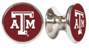 Texas A & M Aggies NCAA Stainless Steel Cabinet Knobs / Drawer Pulls