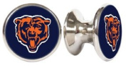 Chicago Bears NFL Stainless Steel Cabinet Knobs / Drawer Pulls