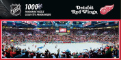 NHL Detroit Red Wings Arena Puzzle (1000-Piece), Small, Grey