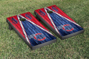 Iowa Cubs MiLB Cornhole Game Set Weathered Triangle Version