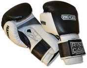 Deluxe MiM-Foam Sparring Boxing Gloves 2.0 - Safety Strap, SYNTHETIC LEATHER for Boxing, MMA, Muay Thai, Kickboxing
