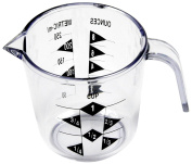 Chef Craft 1-Cup Measuring Cup, Clear