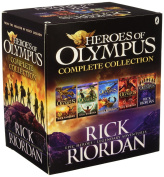 Heroes of Olympus Complete Collection (5 Book Slipcase), 2015 by Rick Riordan