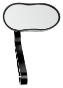 ergotec M-88 63500001 Rear-Vision Mirror with Short Beam Black / Sand