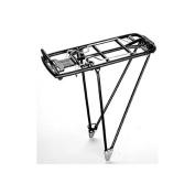 PLETSCHER Athlete H.R.-Gepäckträger Die-Cast Aluminium, 26, 70cm (adjustable)-Black