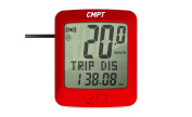 RFR CMPT Bicycle Computer, Red