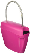 Sbam SAS Look-at-One Bag with Padlock, unisex, Look-at-One, pink, Large