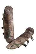 Knight & Hale Snake Gaiters in Realtree Xtra'. Polycarbonate Sides & Ballistic Nylon Covering