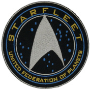 Star Trek Beyond Starfleet United Federation of Planets Embroidered Tactical Milspec Hook Patch