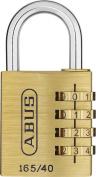 ABUS 60/40 _ Twins _ N Pair Padlocks Brass 40 mm Keys Equal Blister
