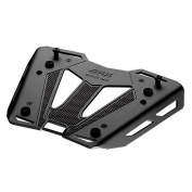 Givi Universal Plate in Brushed and Anodised Aluminium M8B Black