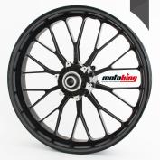 Motoking rim sticker 360 ° / whole circle / for 60cm - 70cm / colour & width are selectable - DARK GREY