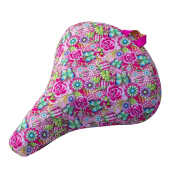 Liix Saddle Cover Catalina Estrada Flowers and Butterflies | waterproof | 600D polyester w/ PVC coating