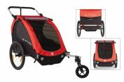 Burley Bicycle Honey Bee Red with Stroller Walking Waterproof, 949209