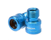 Voxom Vad 1 PRESTA to SCHRADER Valve Adapter, Blue, One Size