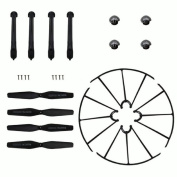 ABCsell New Syma X5HW X5HC Landing Skid+Blade Propeller+Propeller Protectors Spare Set