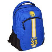Golden State Warriors NBA Action Backpack School Book Gym Bag - Kevin Durant #35