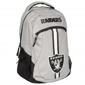 2017 NFL Action Backpack School Gym Bag - Oakland Raiders