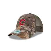 Chicago Cubs Realtree Camo Trucker 9FORTY Adjustable Hat / Cap