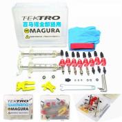 Shimano / Magura / Tektro / ZOOM / CSC / ECHO Series Professional Bike Bicycle Hydraulic Disc Brake Bleed Kit tool