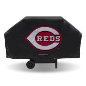 MLB Cincinatti Reds Black Economy Grill Cover