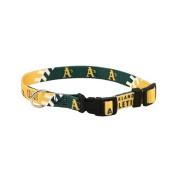 Hunter Mfg DN-310511-S Oakland Athletics Dog Collar - Small