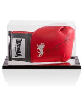 Kell Brook Signed Boxing Glove Red Lonsdale - In Acrylic Display Case - Autographed Boxing Gloves