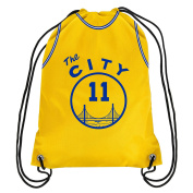 "Golden State Warriors ""The City"" Drawstring Backpack Gym Bag - Klay Thompson #11"