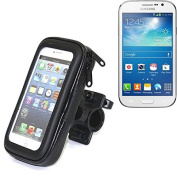 Bike Mount for for for for for for for for for for Samsung Galaxy Grand Neo, handlebar mount for smartphones. Suitable for bicycle, motorcycle, quad, scooter, etc. Water-repellent - K-S-Trade