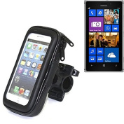 Bike Mount for Nokia Lumia 925, handlebar mount for smartphones. Suitable for bicycle, motorcycle, quad, scooter, etc. Water-repellent - K-S-Trade