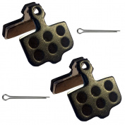 2 sets OF SRAM LEVEL T AND TL Gorilla Brakes Multi compound Disc Brake Pads With Strong Spring