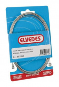 Elvedes Inner Cable Brake Universal Staniless Steel 2350 mm 2 Nipples Fits Shimano And Campagnolo - Black