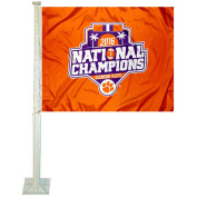 Clemson Tigers 2016 National Champs Car Flag and Auto Flag