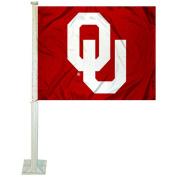 OU Sooners Car and NCAA Auto Flag