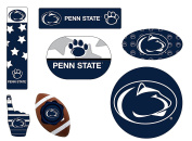 Penn State Nittany Lions 6 Piece Tailgate Magnet Set and Mascot Magnet
