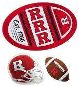 Rutgers Scarlet Knights Jumbo Game Day Magnet, Helmet Magnet and Football Magnet Set