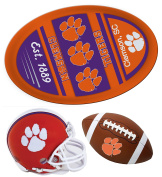 Clemson Tigers Jumbo Game Day Magnet, Helmet Magnet and Football Magnet Set