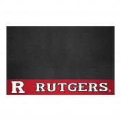 FANMATS 21631 Rutgers Grill Mat, Team Colour, 70cm x 110cm