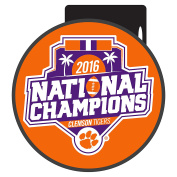 Clemson 2016 National Domed Hitch Cover