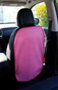 Seat Deluxe Pink Faux Leather Mobile Phone Case with elastic band for attachment