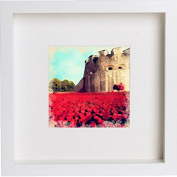 Tower of London Poppies Framed Artwork / Picture / Photo / Memorabilia Frame | Unique Gift 25x25 cm