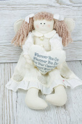 Collectable Rag Doll Go Guradian Angel Bedroom Decoration Birthday Gift FD2334D