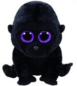 TY GEORGE Gorilla 15 cm Glitter Eye, Glub Sliding's 37222 Beanie Boo's