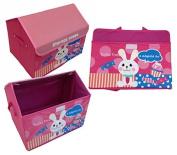 Design House Rabbit Toy Box 42 cm x Depth 34 cm Storage Box/Toy Box/Storage Container Children's Furniture