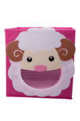 Smiling Sheep Collapsible Toy Storage Box and Closet Organiser for Kids