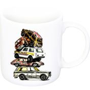 Porcelain cup, Old Cars, Children Memories