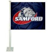 Samford Car and NCAA Auto Flag