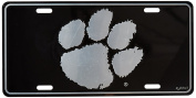 NCAA Clemson Tigers Elite Car Tag, One Size, Multicolor