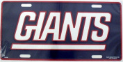 New York Giants NFL Embossed Aluminium Automotive Novelty Licence Plate Tag Sign