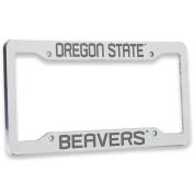 Oregon State Beavers Chrome Plastic Licence Plate Frame
